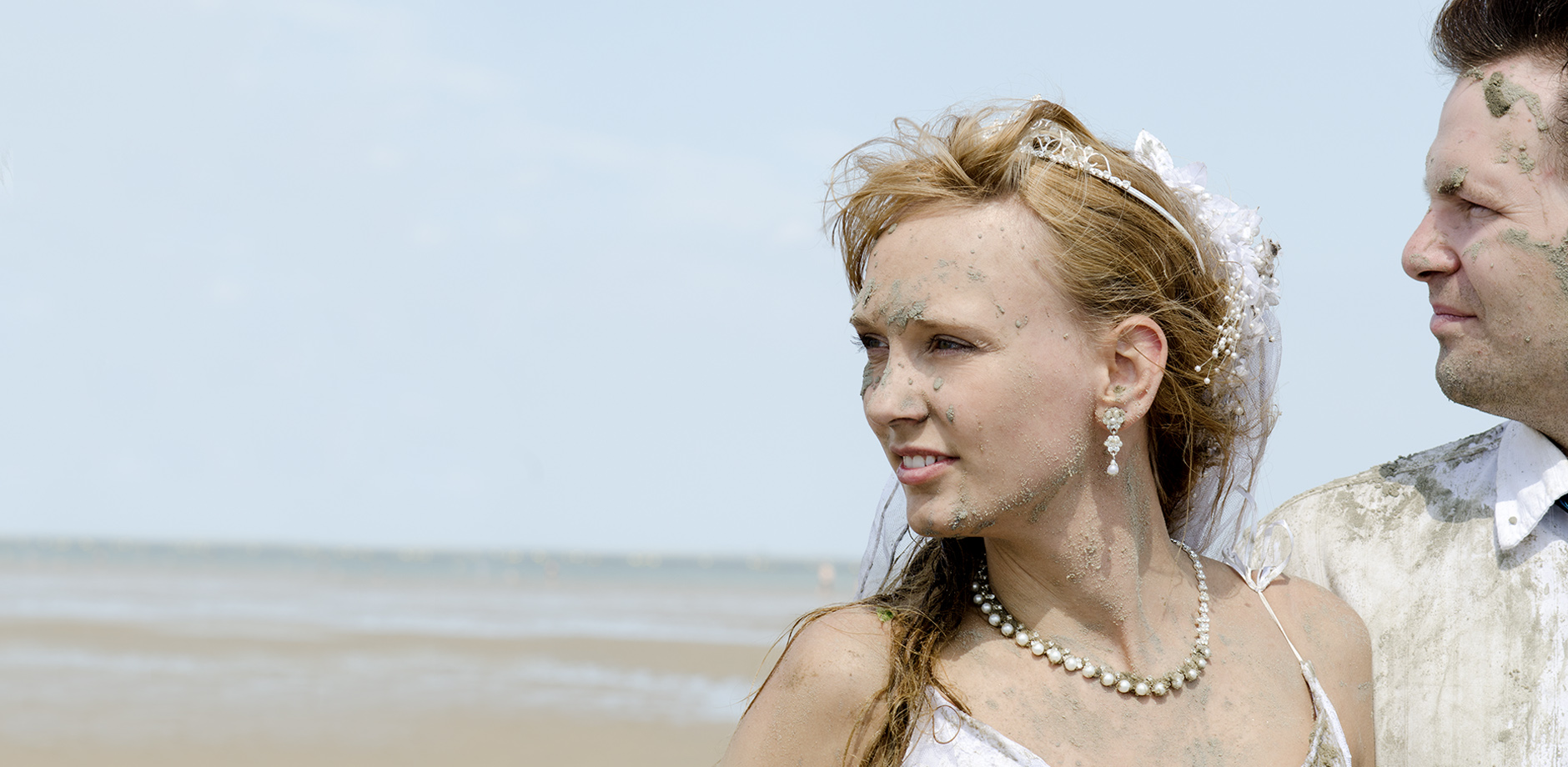 Das gute Portrait, Hochzeit, After Wedding, Trash the Dress, Nordseeshooting